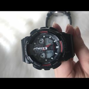 G-shock warch (two)
